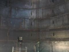 storage tank inside